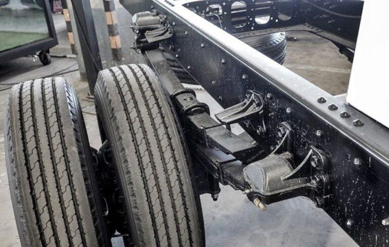 suspensión mecánica
