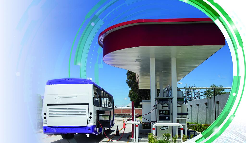 El transporte público explora el uso del gas natural para bajar los contaminantes