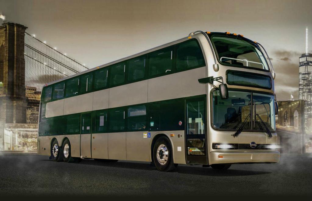 BYD presenta su C10MS en EEUU, será el autobús más grande que funcione con energía eléctrica.