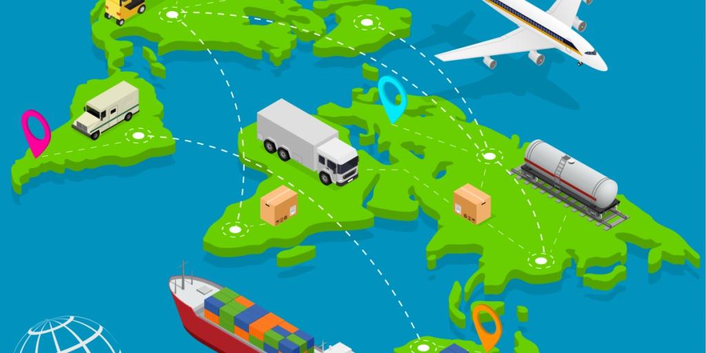UPS da a conocer el secreto e la logística, la conexión.