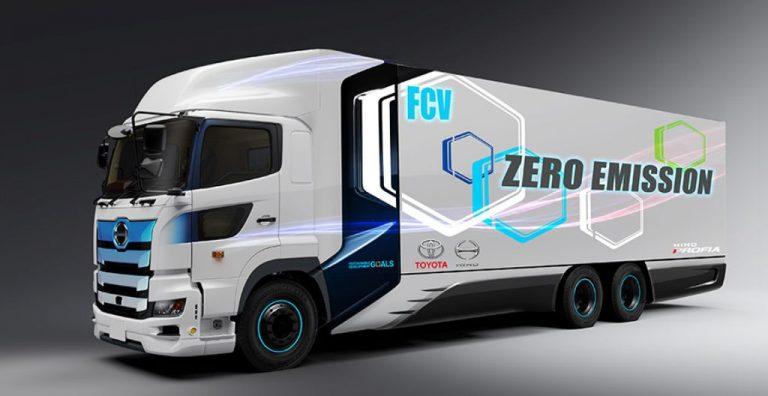 Hino y Toyota desarrollan camión de hidrógeno.