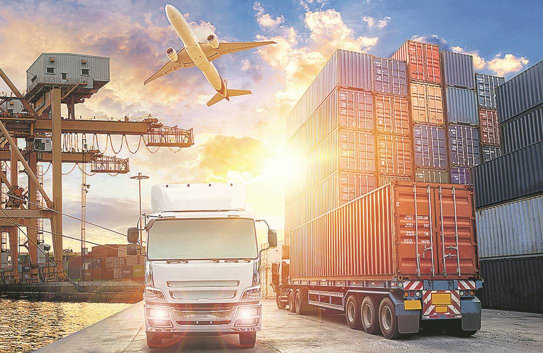 Desplome en el comercio de mercancías