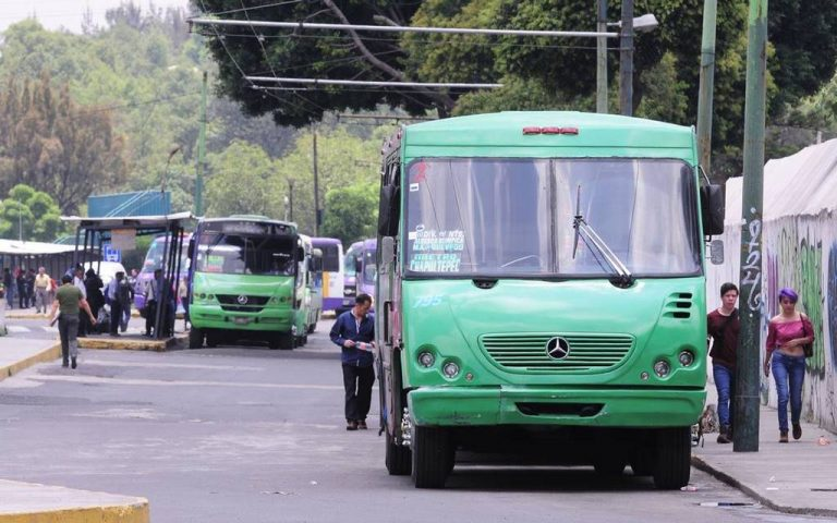 Transporte público va a perder mucho dinero