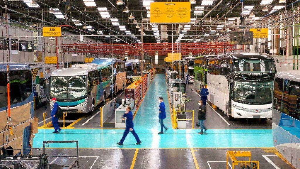 Marcopolo crece en primer trimestre de 2020 gracias a Brasil