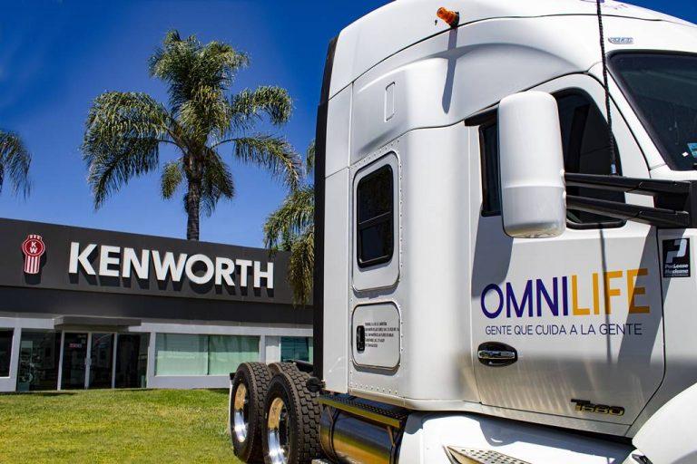 Omnilife arrenda unidades kenworth
