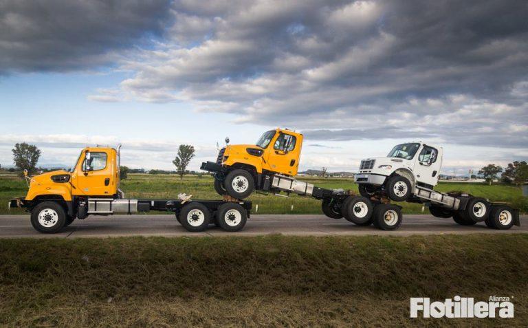 cae producción y exportación de camiones