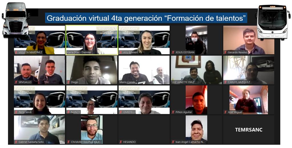 Daimler capacita a jóvenes mexicanos