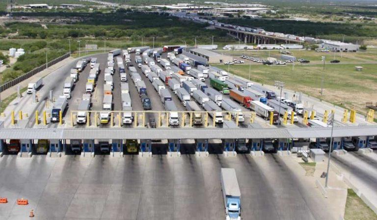 Autotransporte pierde en el comercio transfronterizo