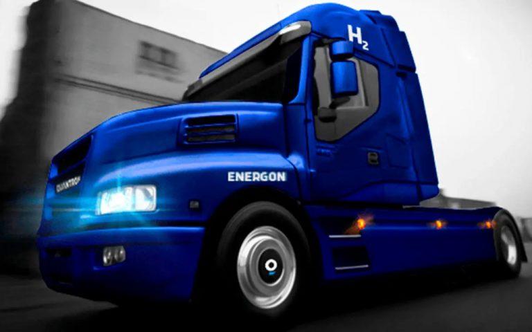 Energon, el Iveco modificado por Quantron para ser eléctrico.