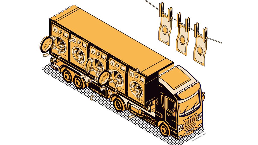 Lavado de dinero en el autotransporte