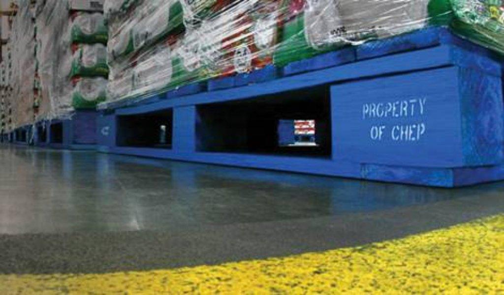 Pallets reutilizables, solución ambiental de CHEP