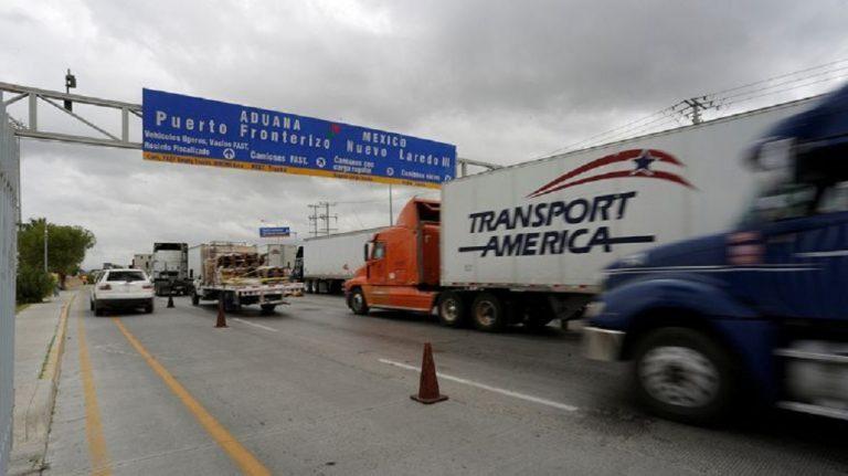 comercio transfronterizo vía autotransporte entre México y Estados Unidos se contraer en mayo principalmente por el Covid-19