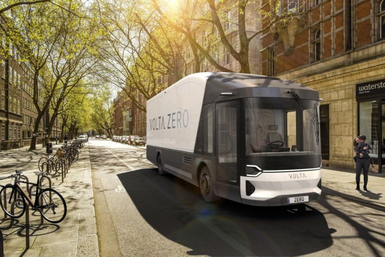 Volta Zero es el camión que quiere eliminar emisiones contaminantes en el norte de Europa.