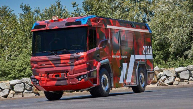 Volvo Penta trabaja en el camión de bomberos del futuro.