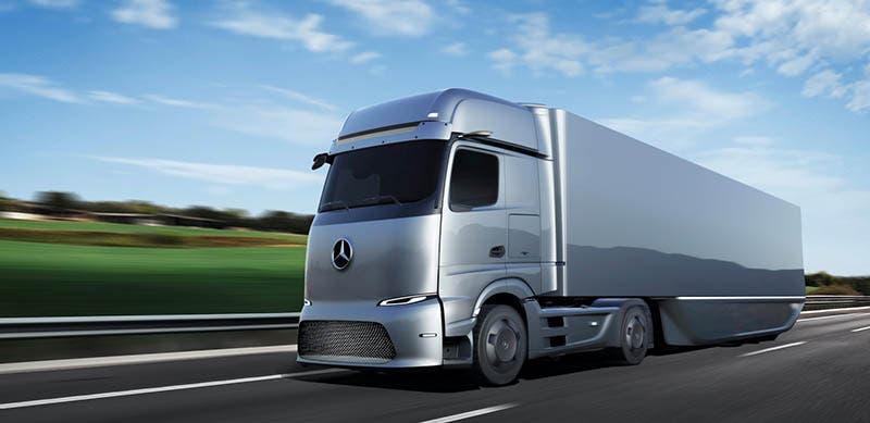 Mercedes Benz GenH2, el camión de hidrógeno de Daimler