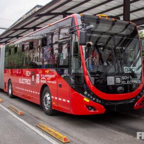 Metrobús eléctrico