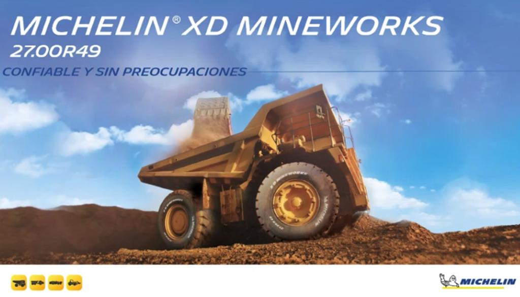 Michelin y su llanta minera