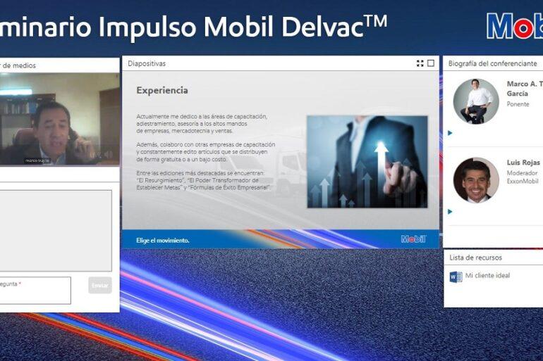 Impulso Mobil Delvac flotillas