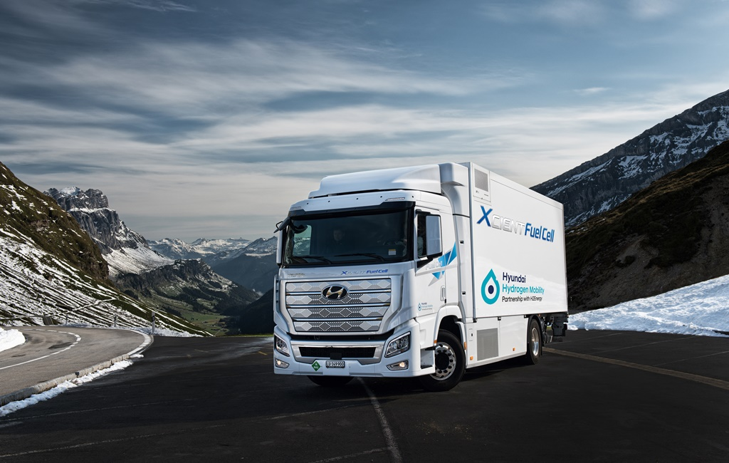 Hyundai y sus camiones de hidrógeno