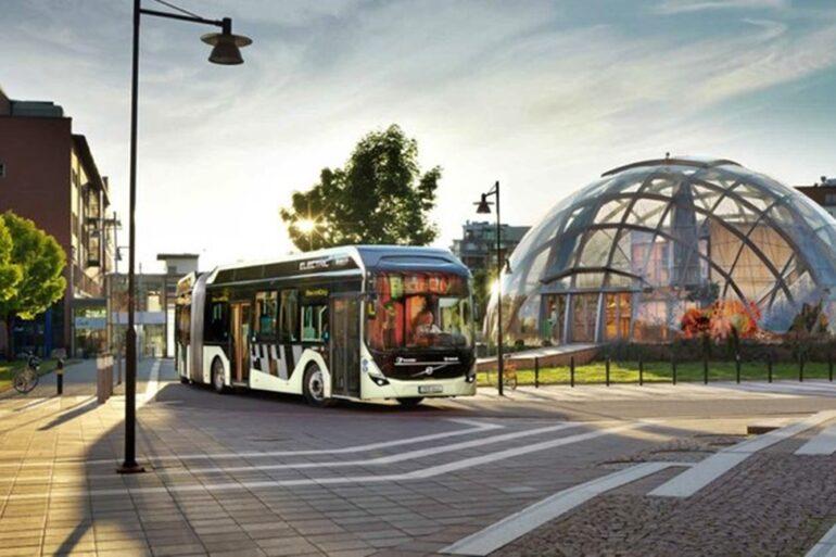 autobuses eléctricos de volvo
