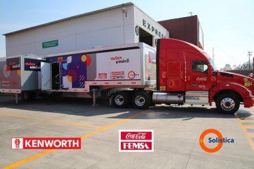 Coca-Cola Femsa, Solistica y Kenworth ponen a rodar aula itinerante de capacitación