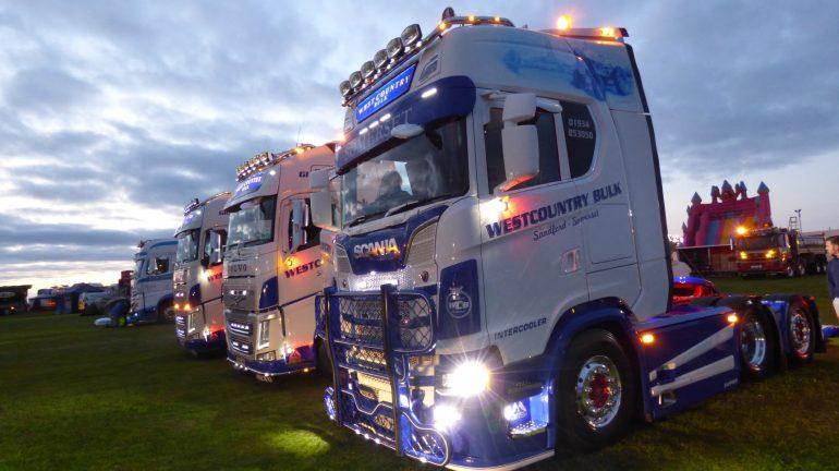 Hankook Tire UK socio oficial en el Devon Truck Show y Cornwall Truck Gathering