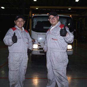 capacitación Isuzu Motors México