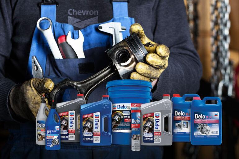 Lubricantes Chevron Delo