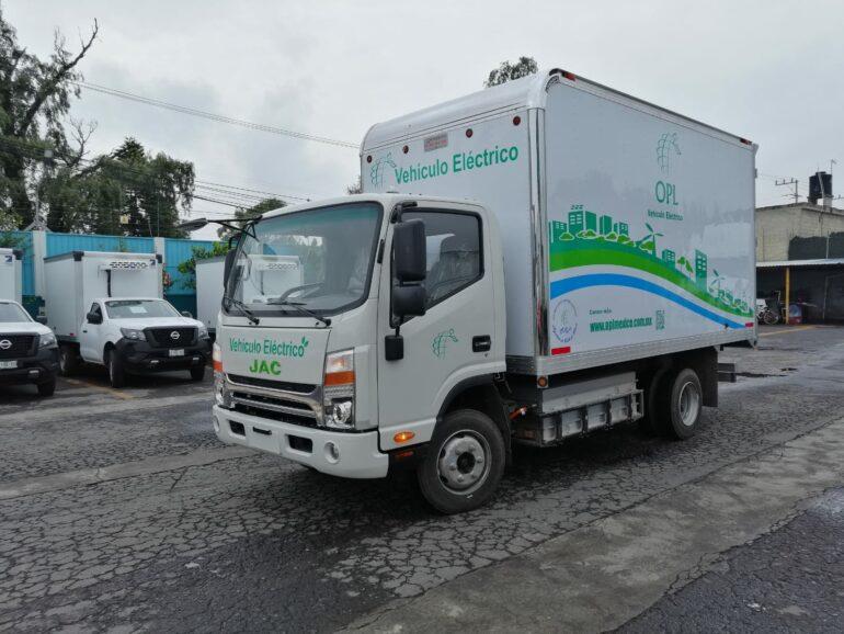 JAC camión eléctrico
