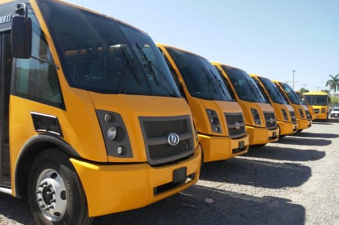 Unidades Dina serán transporte escolar en Sonora