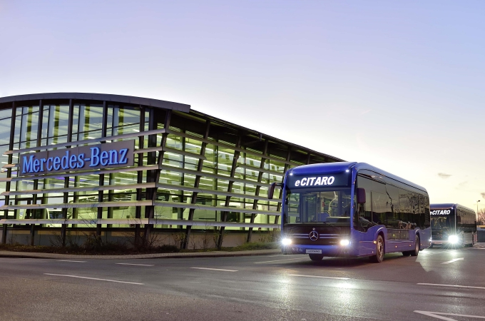 Mercedes Benz Autobuses tuvo crecimiento en 2018