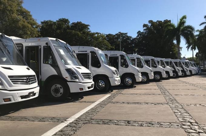 Mercedes Benz Autobuses refuerza el transporte de Sinaloa