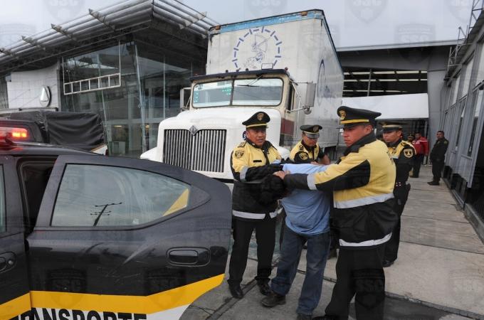 Robo al transporte de carga, no sería delito grave