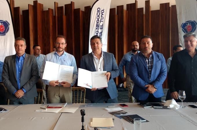 Canacar y Scania firman acuerdo para renovar flota