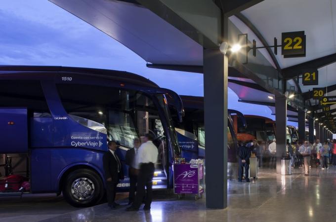 Empresas de transporte de pasajeros crecen 5.7% en 1T